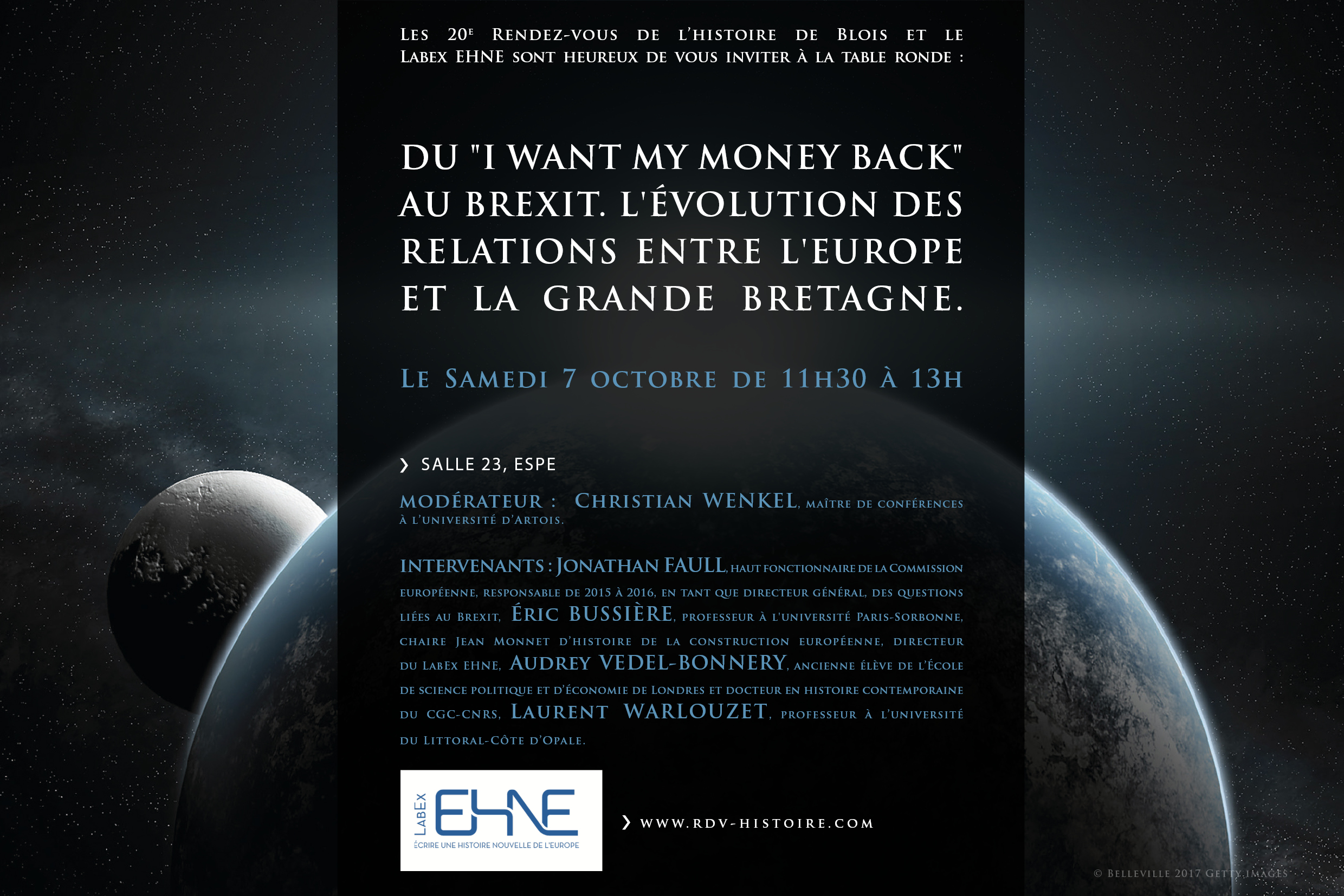 "Du I want my money back au brexit "" @ ESPÉ, Salle 23 