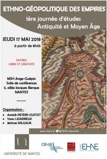 Ethno-géopolitique des Empires / Antiquité et Moyen Âge @ Université de Nantes - MSH Ange-Guépin | Nantes | Pays de la Loire | France