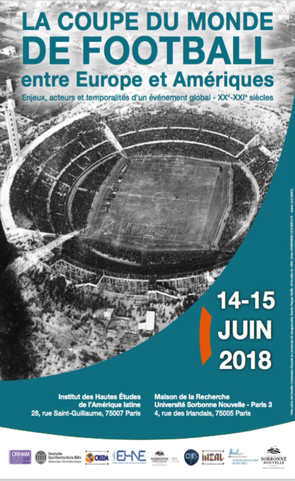 La Coupe du monde de football entre Europe et Amériques @ Institut des Hautes Etudes de l'Amérique Latine | Paris | Île-de-France | France