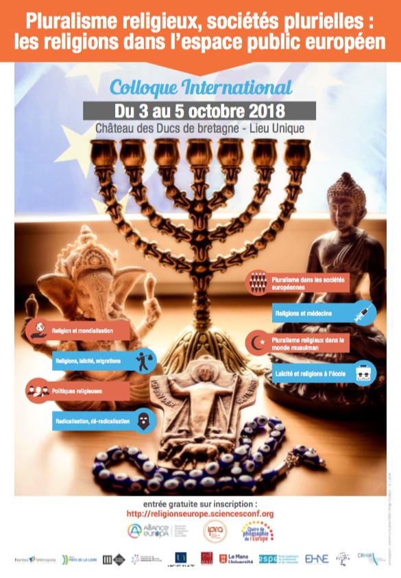Pluralisme religieux, sociétés plurielles : les religions dans l'espace public européen @ Château des Ducs de Bretagne - Musée d'Histoire de Nantes | Nantes | Pays de la Loire | France