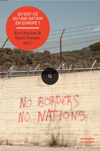 Présentation de «Qu'est-ce qu'une nation en Europe ?» @ Maison de la Recherche Gd Amphi